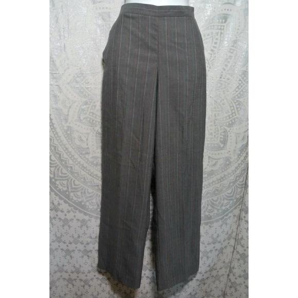 753d80f2a27 Alfred Dunner Pinstripe Dress Pant New 12 Short